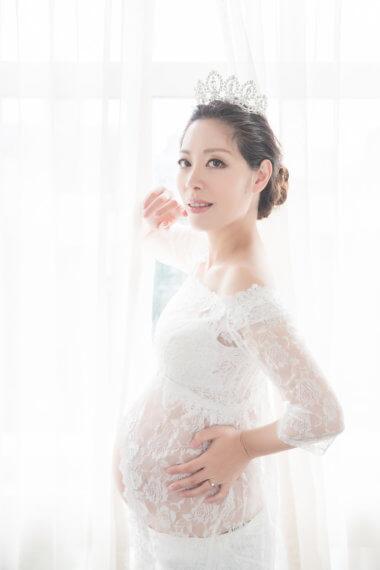 公主孕婦,孕婦寫真,孕婦攝影,孕婦棚拍,法鬥攝影棚