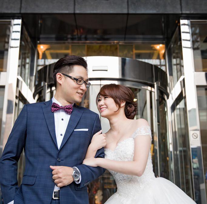 「婚攝」花園大酒店 – Edgar + Allie