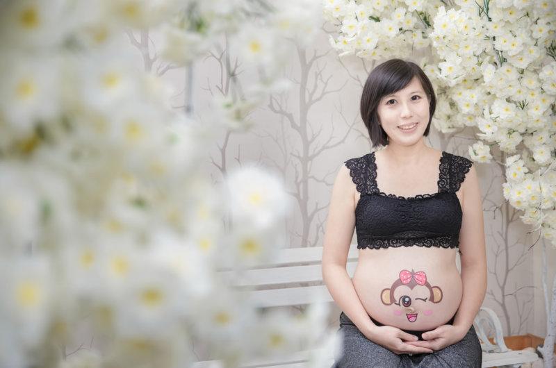 孕婦寫真,孕婦攝影,孕婦棚拍,蘿絲可可