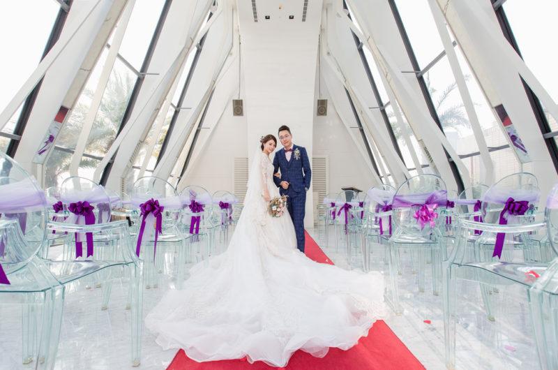 教堂類婚紗,新竹芙洛麗,水上教堂,芙洛麗大飯店,芙洛麗教堂婚禮